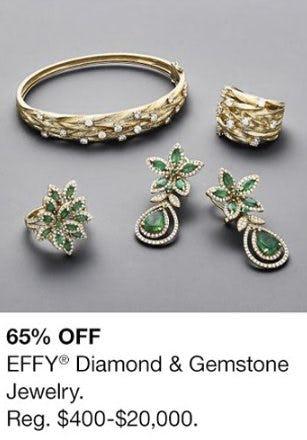 65% Off EFFY Diamond & Gemstone Jewelry