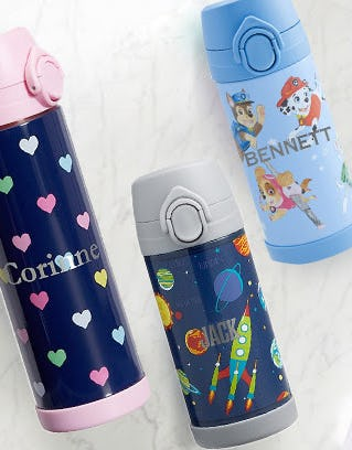 Kids Water Bottles from Pottery Barn Kids