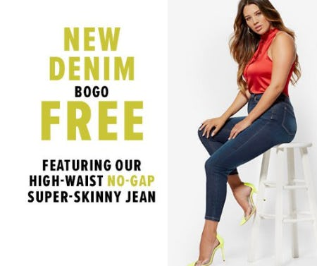 New Denim BOGO Free from New York & Company