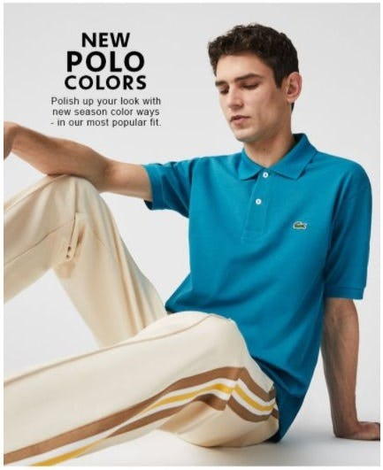 New Season L.12.12 Polo Colors from Lacoste