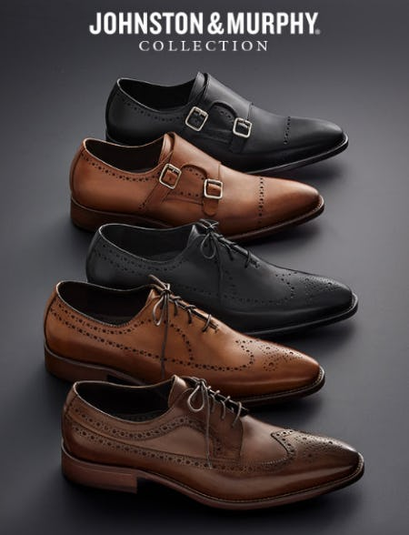 The Reece Collection from JOHNSTON & MURPHY