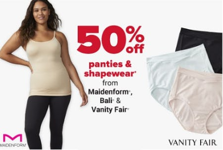 50% Off Panties & Shapewear from Belk