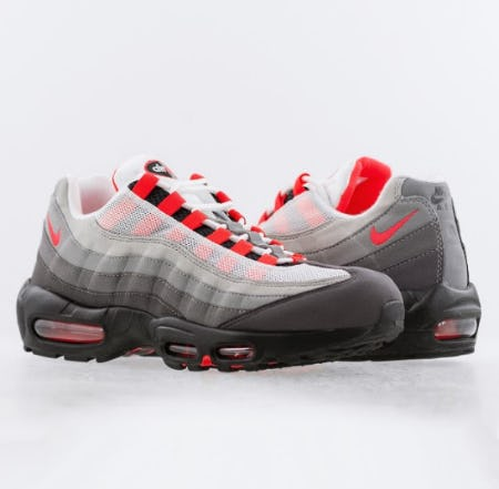 "Nike Air Max 95 ""Solar Red"" from City Gear"