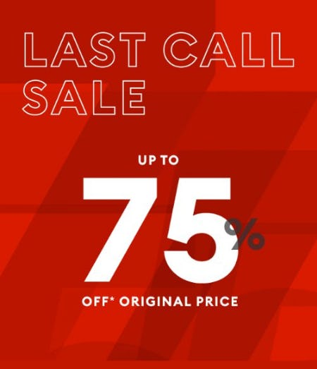 Up to 75% Off Original Price from Banana Republic