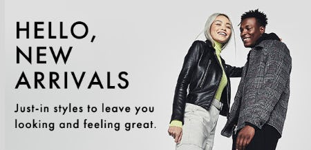 Hello New Arrivals from DSW Shoes