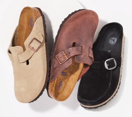 Birkenstock for Fall from Rack Room Shoes