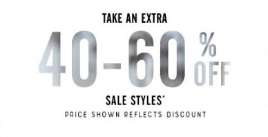 Take an Extra 40-60% Off Sale Styles from Lucky Brand Jeans