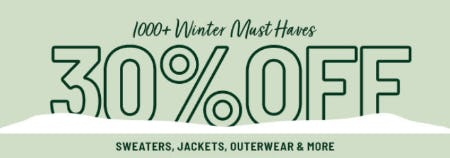 30% Off Sweaters, Jackets, Outerwear & More from Forever 21