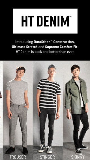 HT Denim is Back