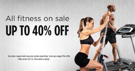 All Fitness on Sale up to 40% Off