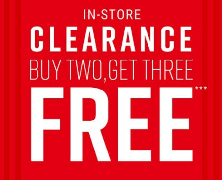 B2G3 Free Clearance from Hot Topic