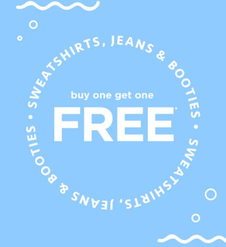 BOGO Free Select Items from rue21