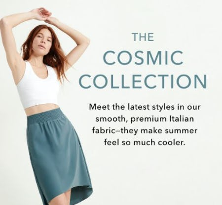 Our Cosmic Collection Has Arrived from Athleta