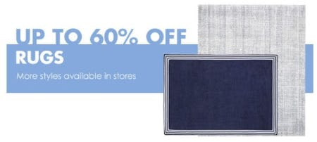 Up to 60% Off Rugs from Pottery Barn Kids