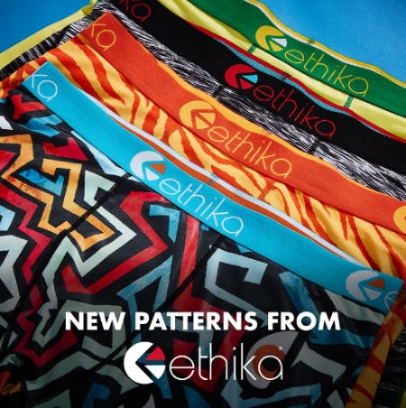 New Patterns from Ethika for Him & Her from EbLens Clothing and Footwear