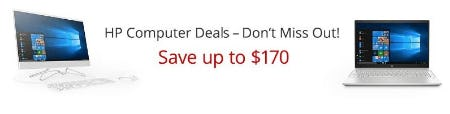 Up to $170 Off HP Computer Deals from Office Depot
