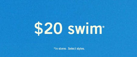 $20 Swim from Abercrombie & Fitch