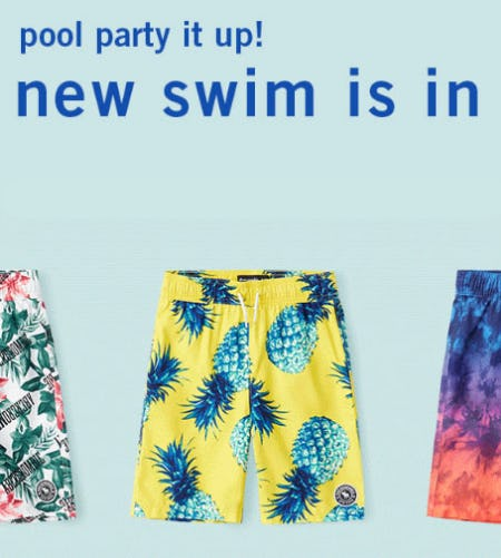 New Swim is In from abercrombie