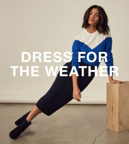 Dress for the Weather from Banana Republic