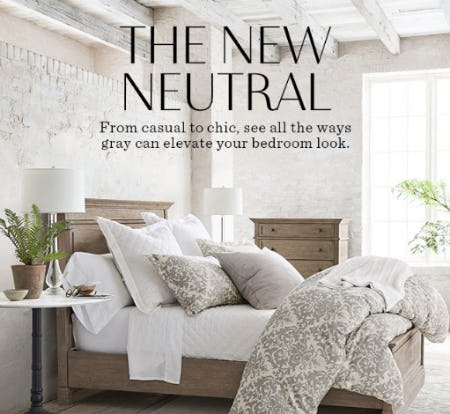 The New Neutral from Pottery Barn
