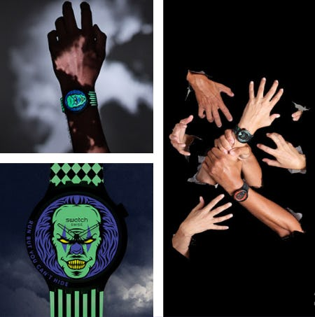Our Frighteningly Stylish Halloween Watches from Swatch