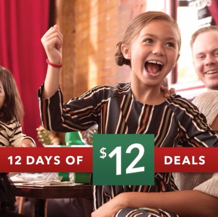 Payless ShoeSource 12 Days of $12 Deals
