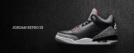Jordan Retro III from Footaction