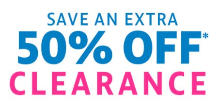 Save an Extra 50% Off Clearance from Stein Mart