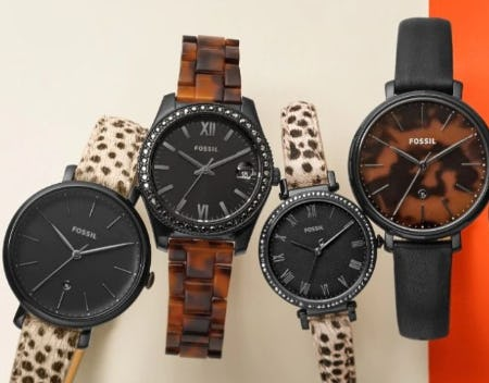 Wild Watches from Fossil