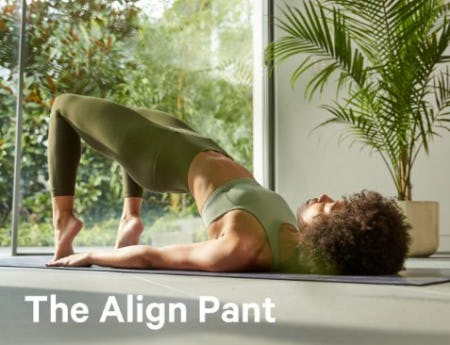 Tried + True: The Align from lululemon