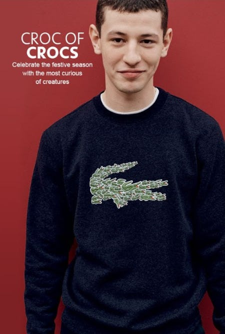 Introducing Croco Magic from Lacoste