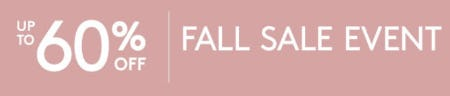 Up to 60% Off Fall Sale Event from Pottery Barn Kids