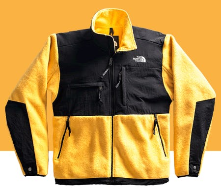 The '95 Retro Denali in Limited Edition Yellow from The North Face