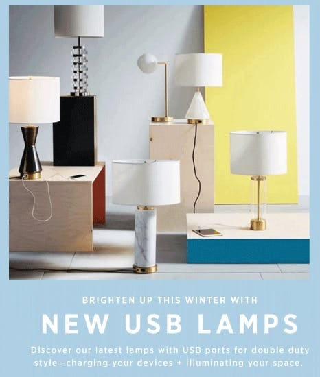 Discover Our New USB Lamps
