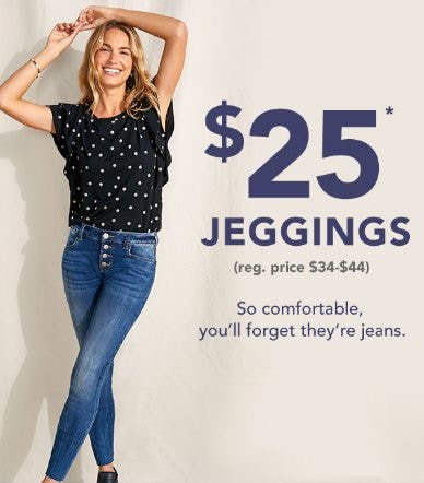 $25 Jeggings from maurices