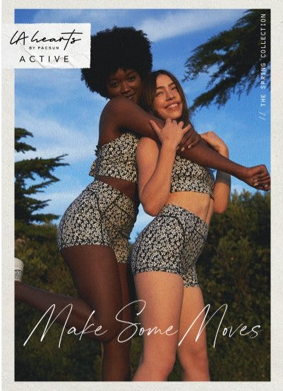 NEW from LA Hearts Active: The Spring Collection from PacSun