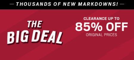 Clearance up to 85% Off Original Prices from Men's Wearhouse