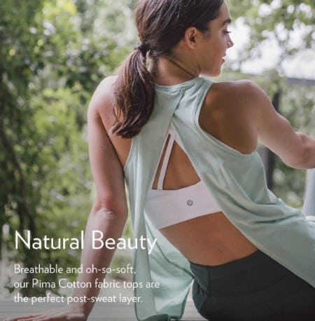 Shop New Pima Cotton from lululemon