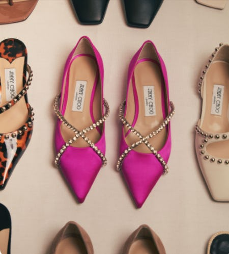 New Season Flats from Jimmy Choo