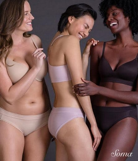 Save 25% Off Your Entire Purchase from Soma Intimates