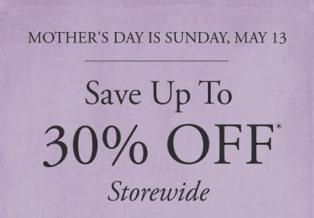 Up to 30% Off Storewide from Gordon's Jewelers