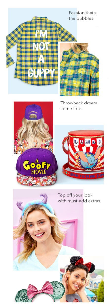 Our New Character-Inspired Styles from Disney Store