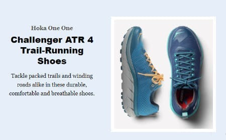 HOKA ONE ONE Challenger ATR 4 Trail-Running Shoes