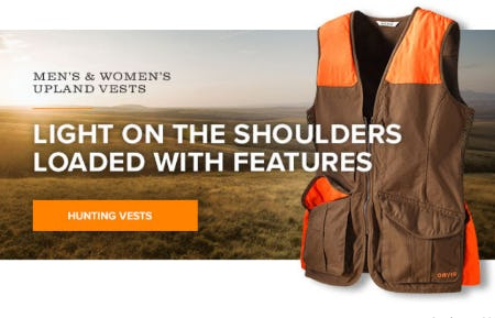 The Hunting Vests from Orvis
