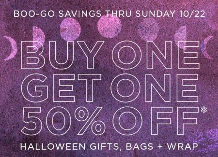 BOGO 50% Off Halloween