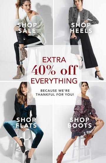 Extra 40% Off Everything