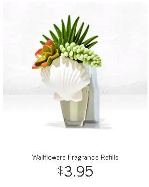 Wallflowers Fragrance Refills $3.95 from Bath & Body Works