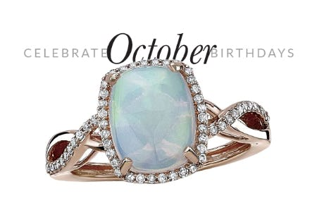 October Birthstone Sale from Rogers & Hollands Jewelers