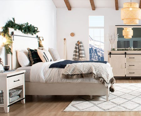 TheMontana BedroomCollection from Bob's Discount Furniture