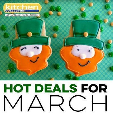 March_Kitchen Collection 2018 Promotions and Sales